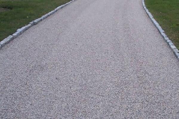 Tar Chip Ranch Road Paving